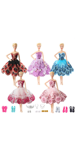 10 Pcs Doll Stand Display Holder for 11.5/'/' Dolls Transparent Model Support Tool