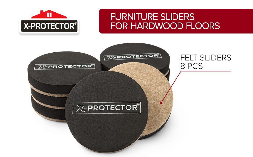 x-protector furniture sliders