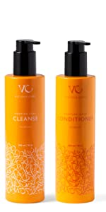 Vicious Curl Foaming Curl Cleanse and Moisture Surge Conditioner Kit