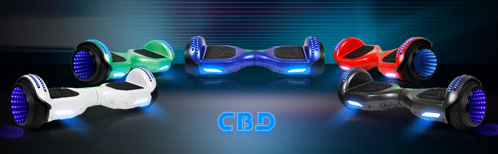 CBD Flash Hoverboard with bluetooth, best gifts for kids and adults