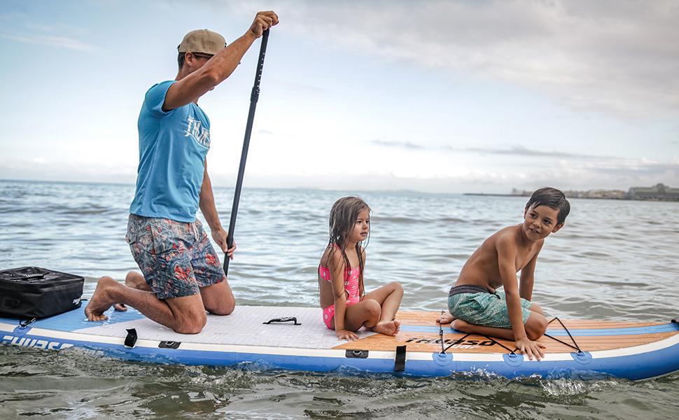 THURSO SURF Tabla Paddle Surf Hinchable MAX 350 x 86 x 15 cm ...