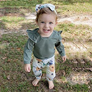 fall baby clothes girl
