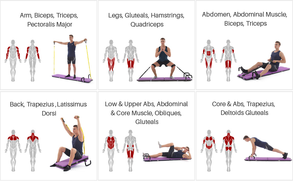 all in one Workout set