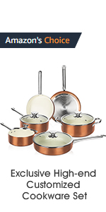 cookware set induction oven safe