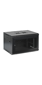 Assembed Wall Mount IT Network Cabinet Enclosure 19-Inch Server Rack