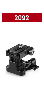SMALLRIG 15mm Universal Base Plate 2092