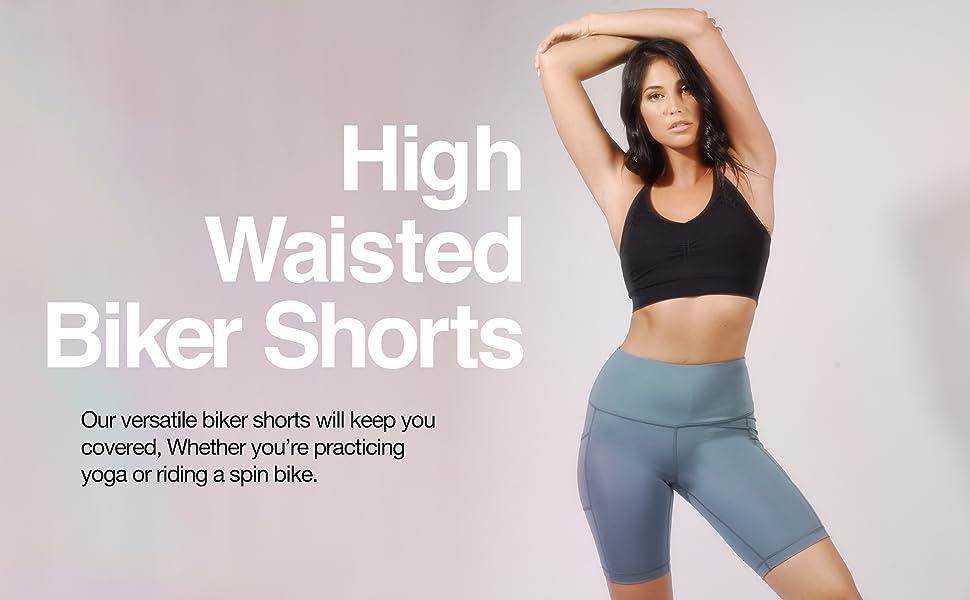 biker shorts, high waisted biker shorts, workout shorts for women, workout shorts, bike shorts