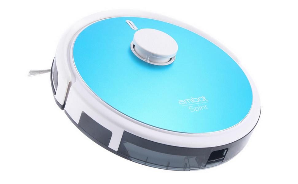 AMIBOT Spirit Laser H2O – Robot aspirateur et laveur connecté
