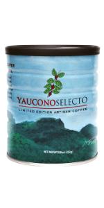 selecto gourmet yaucono ground coffee puerto rico