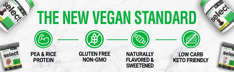 vegan protein non gmo keto low carb rice hemp pumpkin vegetarian plant based stevia natural organic