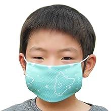 マスクの会 クールマスク 子ども用 ブルー