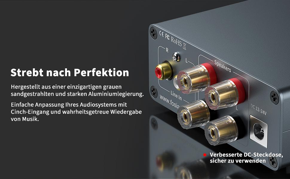 Fosi Audio 7498E amplifier