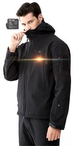chaqueta calefactable bateria