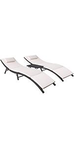3 pieces lounge set