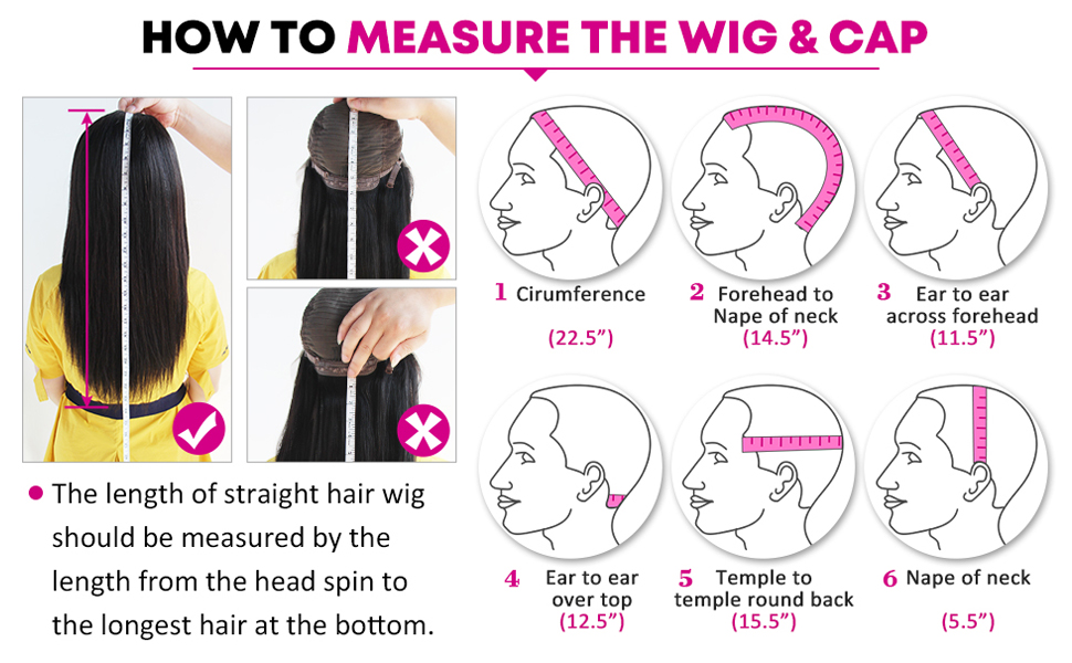 how to measure the wig