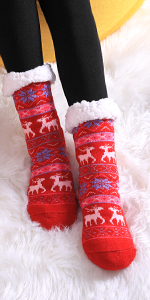 Women's Winter Slipper Socks