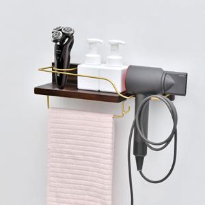 hair dryer storage shelf