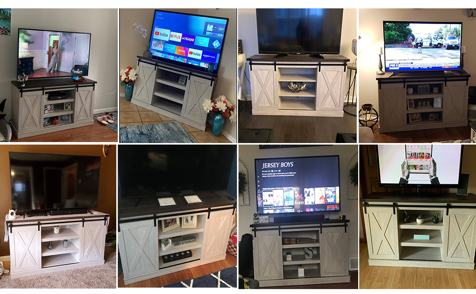 Living Room Storage TV Cabinet Table