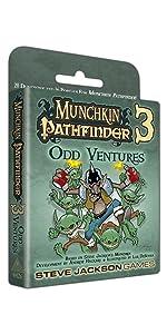 Munchkin Pathfinder 3, Munchkin, Pathfinder, Steve Jackson Games, Role playing game, RPG