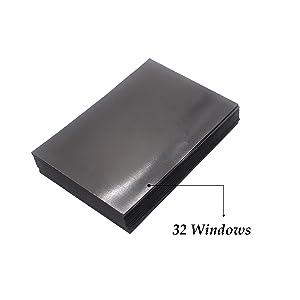32pcs skysen Magnetic Faux Garage Door Decoration Windows Decals