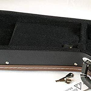 Estuche rígido Tone Deaf Music para guitarras eléctricas. Carcasa de madera con forro acolchado. Se adapta a Fender Stratocaster, Strats, Telecaster, Teles, ESP, Ibanez y guitarras de forma similar: Amazon.es: Instrumentos musicales