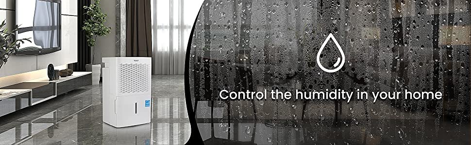 control the humidity in your home