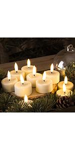 flameless tealights candles