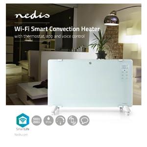 Smartlife Wi-Fi Smart convectorkachel