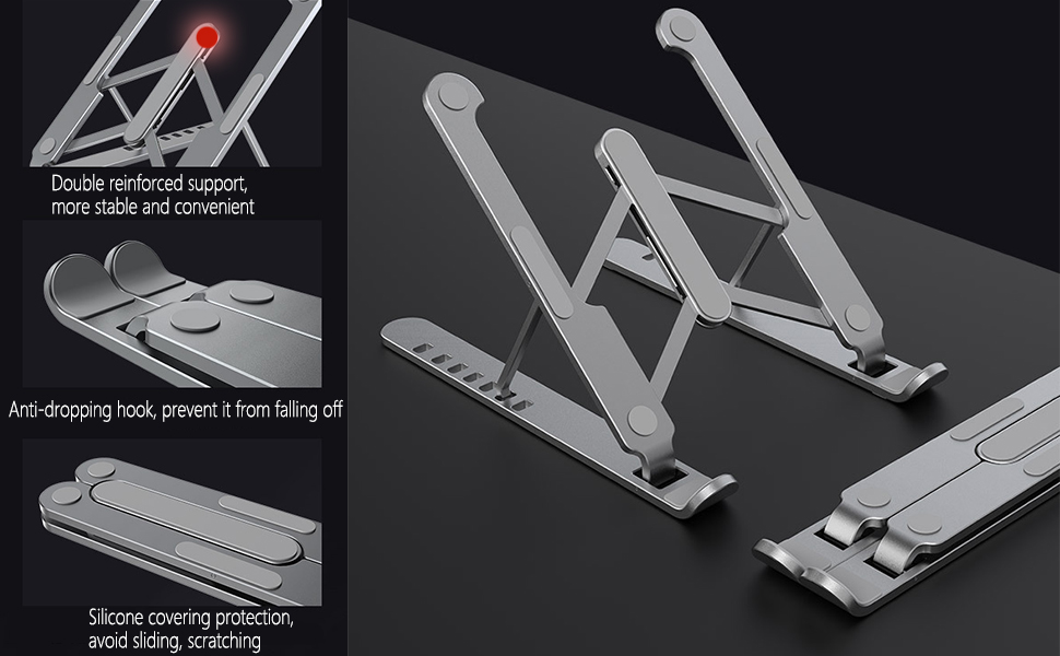 laptop stand detail