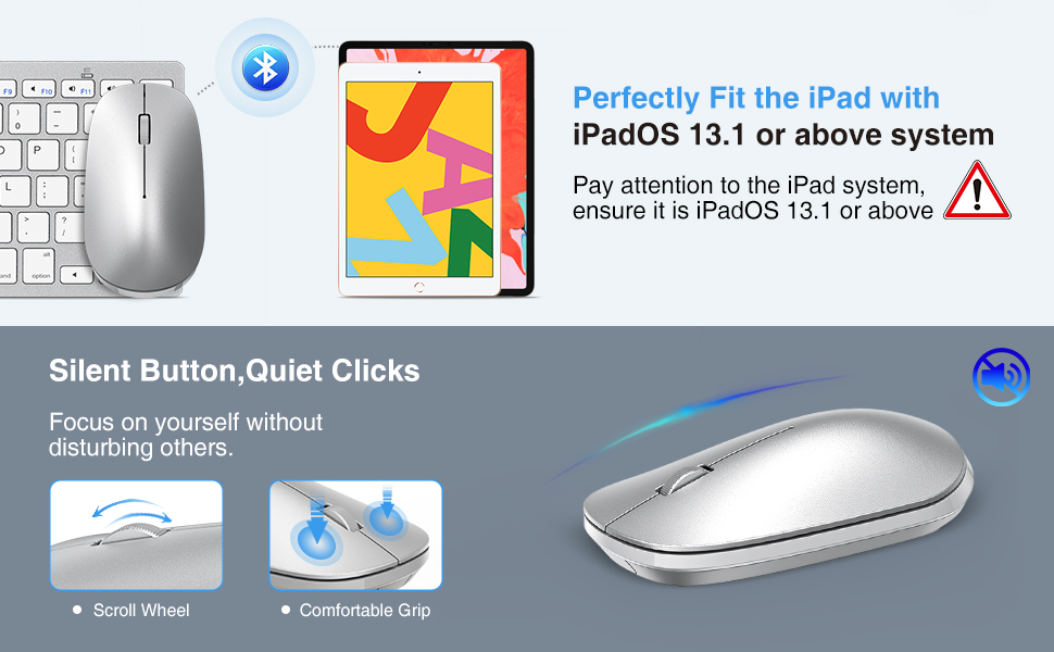 ipad mouse and keyboard