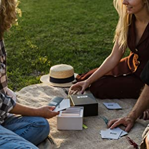 Card game, conversation game, conversation starters, fun card game, deep thinking game, mind game
