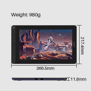 digital sketch pad, drawing tablet with screen, graphics monitor, drawing monitor,huion,kamvas pro