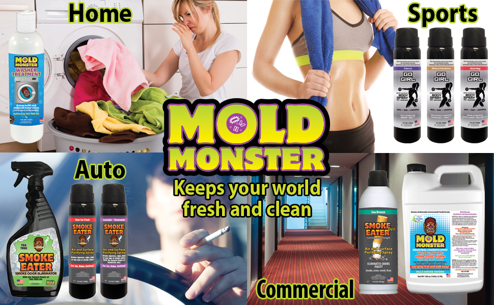 Go girl washer smell treatment smoke eater pro everything mold monster can offer