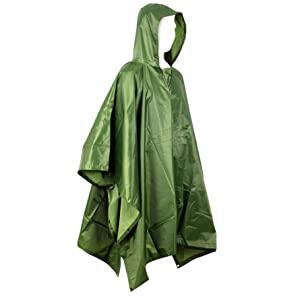 Outerwear Rain Coat Poncho Covered Breathable Accessories Trend Recycled Gear FI