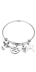 I once was his/her angel bracelet