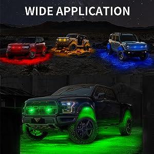led light truck
