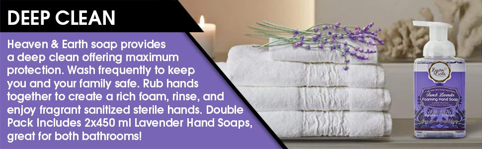 deep clean hand wash