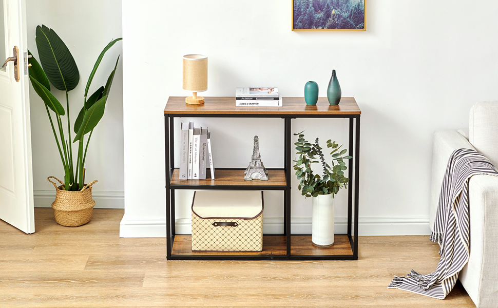 hallway entryway table with storage