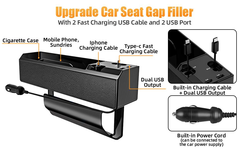 Car Seat Gap Organizer