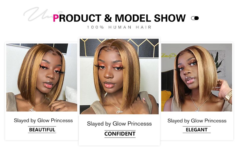 Unice bob wig TL/412 ombre wigs human hair wigs for black women