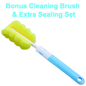 Bonus Brush and Sealing Set