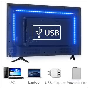 USB Powered strip lights