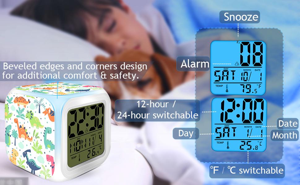 alarm clock children