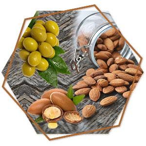 Almond, Olive & Argan oil