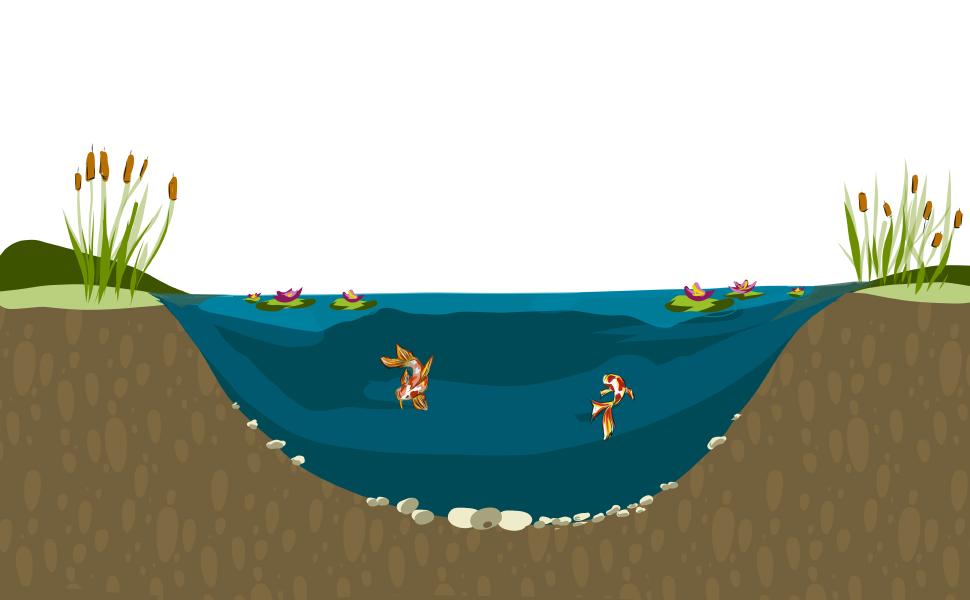 pond liner x mil epdm rubber kit fish LLDPE gallon koi preformed repair 45mil underlayment plastic