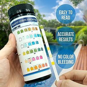 spa chlorine test strips kit
