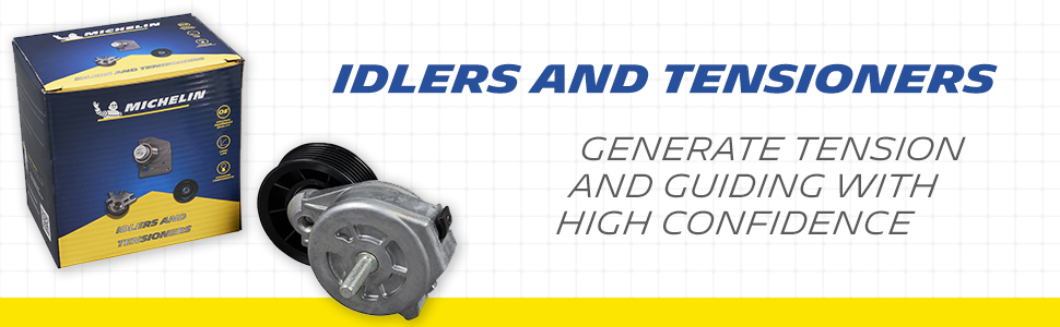 idlers tensioners tension guide confidence MICHELIN