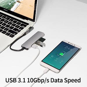 magnetic usb c adapter data