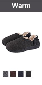 longbay men's warm slipper