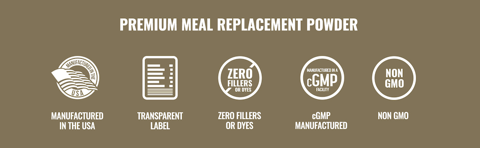 Premium Meal Replacement Powder